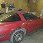 More of the '84 Vette we are restoring.
