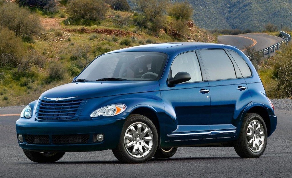 PT Cruiser. Definitely not a sports car.