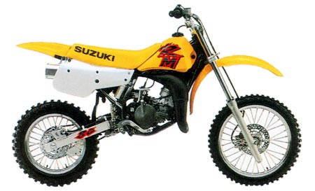 Stock photo of 1997 Suzuki RM80