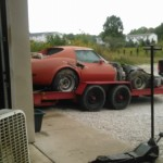 1977 C3 Corvette to be parted out.